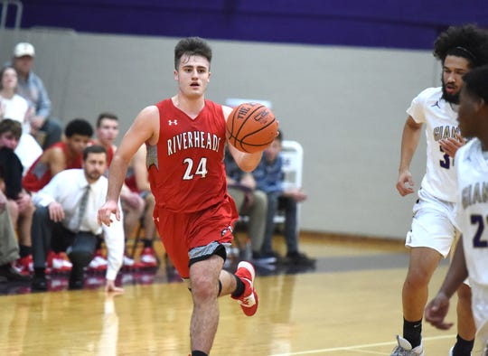 Riverheads' Grant Painter finished with 23 points Friday night against Waynesboro.