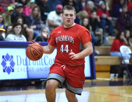 The Riverheads boys will open regional play Tuesday, February 25, at home.