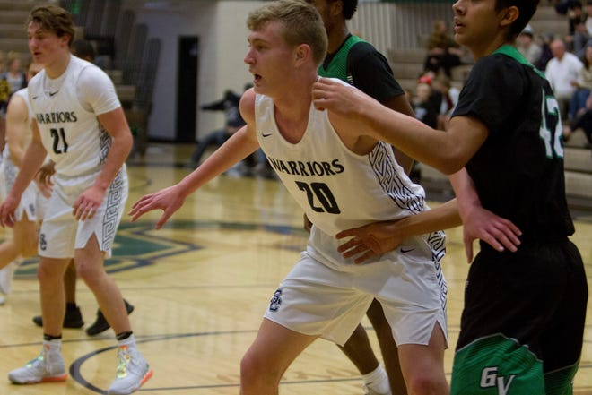 Snow Canyon center Lyman Simmons dropped 17 points in the Warriors' playoff win over Ben Lomond.