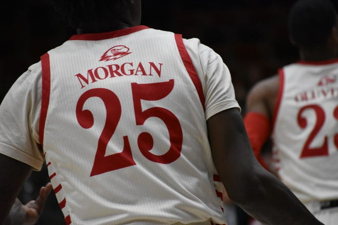 SUU basketball senior forward Dwayne Morgan is the T-Birds' leader both on and off the court during one of the biggest years of his life.