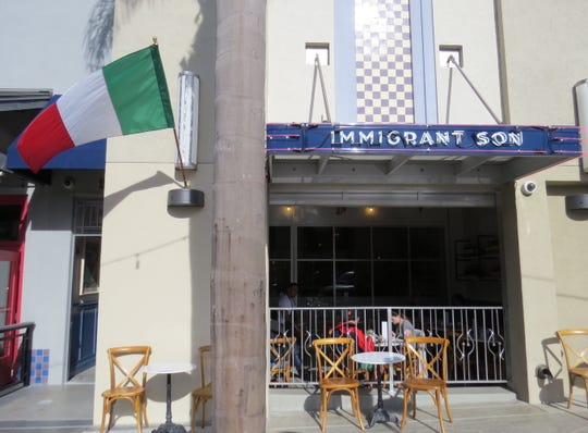 Immigrant Son Caffe is open at 543 E. Main St. in downtown Ventura.