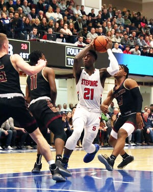 Stepinac defeated Iona 62-54 in the 3rd annual Crusader Classic at the Westchester County Center in White Plains Jan. 3, 2020.