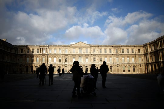 The Louvre museum in Paris is one of the most famous places to observe art in the world.