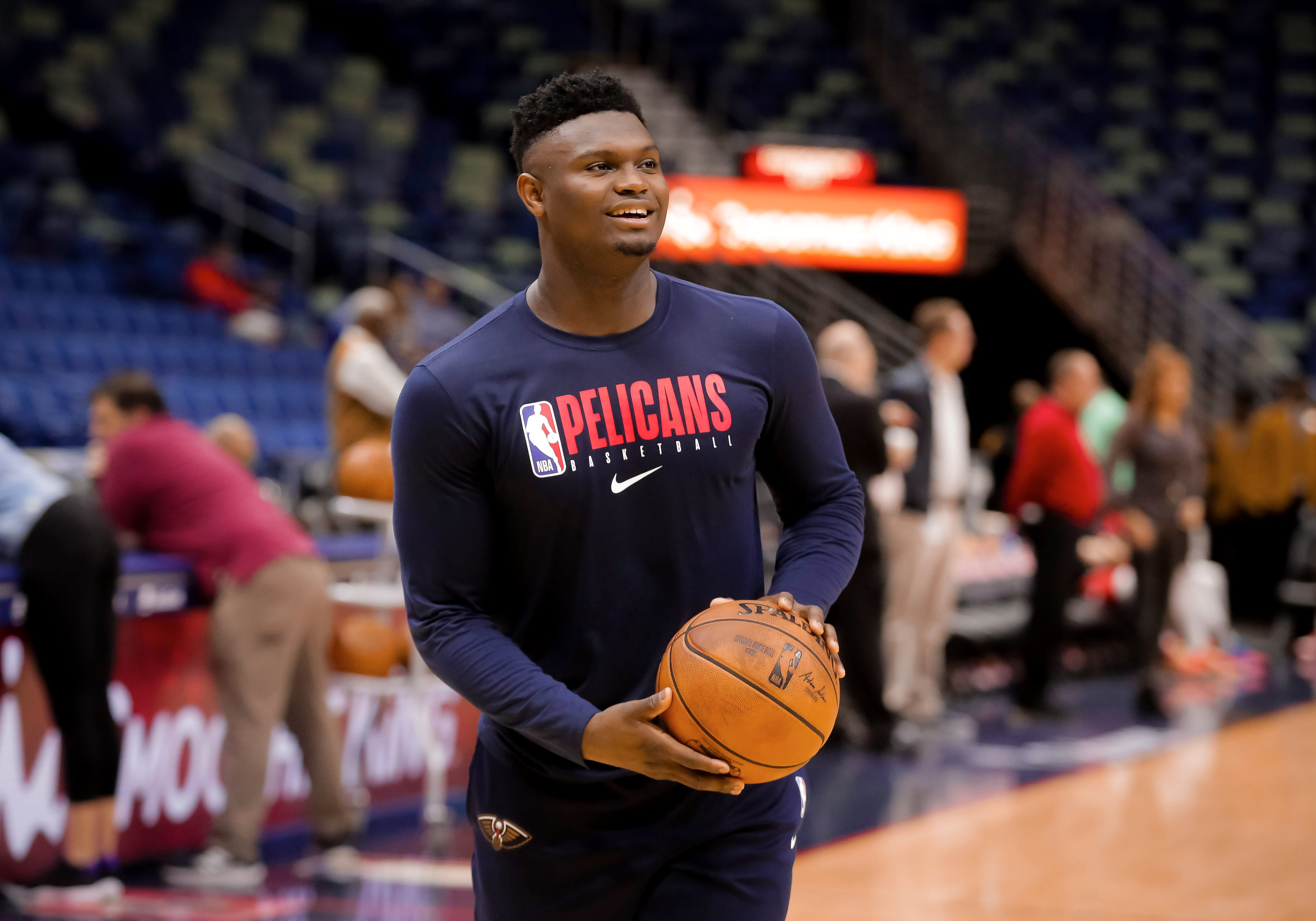 Zion Williamson Pelicans Will Play Star Rookie When He S