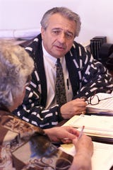 Former Woodbridge Mayor Philip Cerria is seen in this Home News Tribune file photo from Dec. 1, 1999, when he was serving as the township clerk.