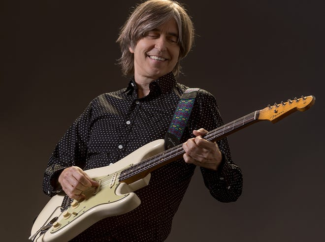 Eric Johnson plays music from his four-decade career Jan. 10 at the Admiral.