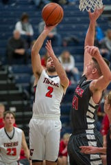 Galion's Isaiah Alsip finished just 100 points shy of the school's scoring record.