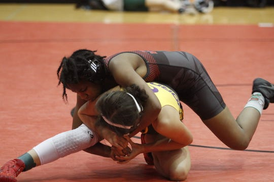 Wrestlers from 27 high schools competed in a tournament Saturday, Jan. 4, 2020, at Rossview High School.