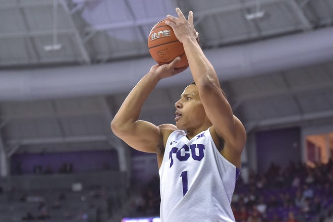 TCU senior Desmond Bane is one of 10 final candidates for the Jerry West Shooting Guard of the Year Award.