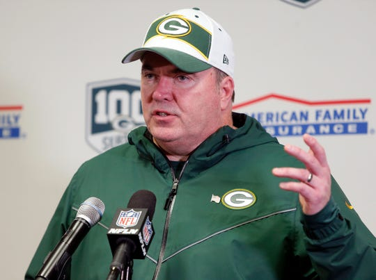 Former Green Bay coach Mike McCarthy is speaking with Dallas about its coaching position, according to two people with direct knowledge of the situation said. The people spoke to the Associated Press on condition of anonymity because the club isn't commenting publicly on its coaching situation.