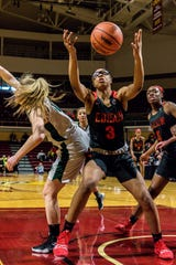 Gabrielle Elliott (3) and Detroit Edison are the top-ranked team in the state in David Goricki's girls high school rankings.