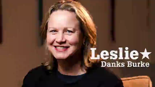 Leslie Danks Burke, a Democrat, launched her second bid for the state Senate on Jan. 7, 2020.