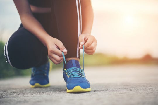 Walk, jog or run to meet your 2020 fitness goals. Just remember, consistency is key.