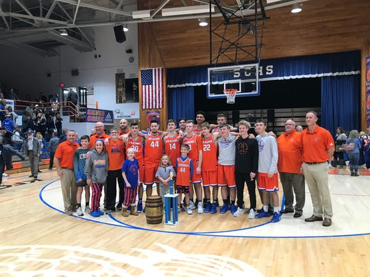 Silver Creek won its third straight Holiday Tournament after beating Providence 78-43