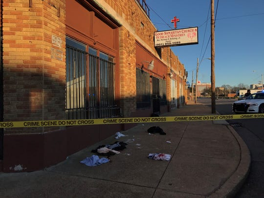 A man was stabbed Saturday afternoon outside Good Samaritan Church and Outreach Ministries on Poplar Avenue.