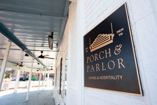 The long-awaited Porch & Parlor opens next week.