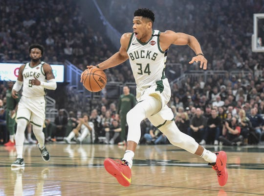 Giannis Antetokounmpo Well Ahead In East Voting For All Star