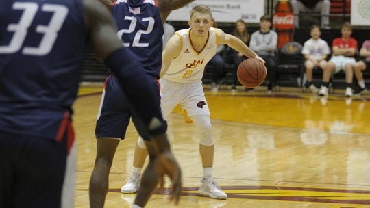 Guard Michael Ertel's 11 3's set a new ULM record, tied the Sun Belt's single-game record for league play and are the most made by an NCAA Division I player this season.