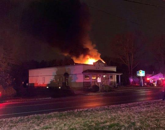 Fairfield Animal Hospital three alarm fire