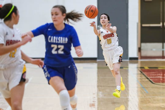 The Centennial girls basketball team is off to a 13-1 start and ranked No. 3 in Class 5A entering district play.