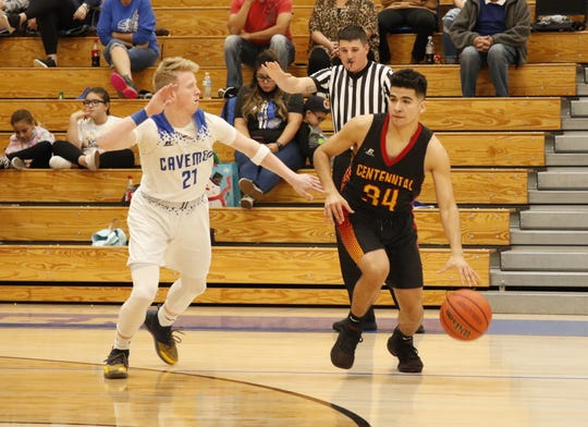 Photos from the Carlsbad/Centennial basketball game on Jan. 4, 2020. Carlsbad won, 40-39.