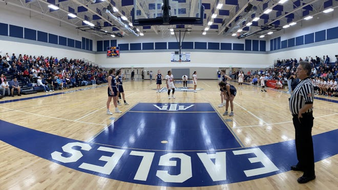 Jan. 4, 2019: Chandler Prep New Year Classic girls basketball tournament Diamond division championship game between Holbrook and Gonzaga Prep.