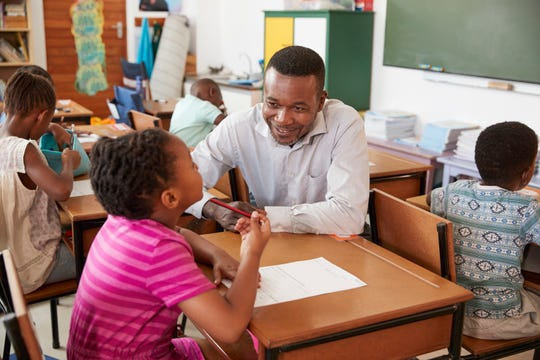During the 2013-2014 school year, black students made up only 16% of New Jersey's student population but represented 44% of all students suspended. Black students who have one or more black teacher have much better outcomes. (Dreamstime/TNS)