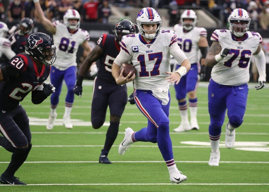 """GM Brandon Beane remains confident that Josh Allen can be a true """"franchise'' quarterback. """"I have no doubt that Josh is going to come back, he is so hungry, so determined. He knows he has doubters, all the people from the day he was drafted all the way until today...But he's self-aware, he understands what he has to do. We have no doubt that Josh will come back here an even better version in 2020 than he was this year."""""""