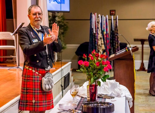 The St. Andrew Society of Tallahassee will have its annual Robert Burns' Supper on Jan. 25 at the Tallahassee Women's Club.