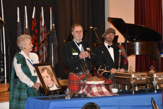 The St. Andrew Society of Tallahassee holds an annual Robert Burns' Supper on Jan. 25.  The banquet will be held at the Tallahassee Women's Club is open to all.