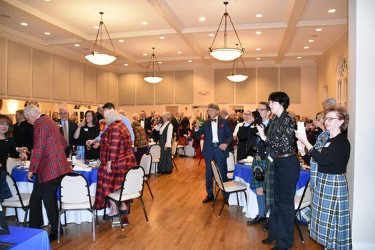 In the Big Bend area, the Burns' Supper has been hosted by the St. Andrew Society of Tallahassee since 1976, shown here in 2018.