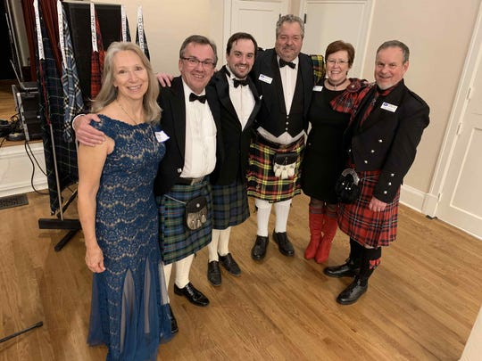 """The night usually concludes with all the attendees standing and joining hands while singing Burns' song """"Auld Lang Syne."""""""