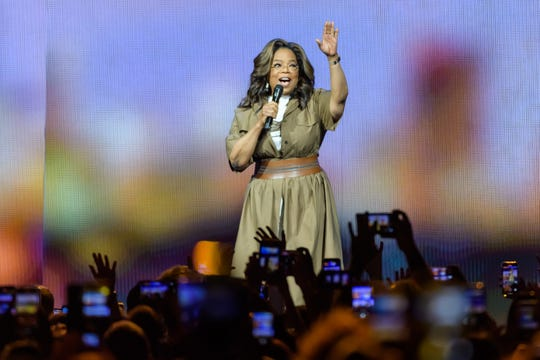 Oprah Winfrey speaks during the WW (Weight Watchers Reimagined) & Oprah's 2020 Vision: Your Life In Focus Tour at BB&T Center on January 4, 2020 in Sunrise, Florida.