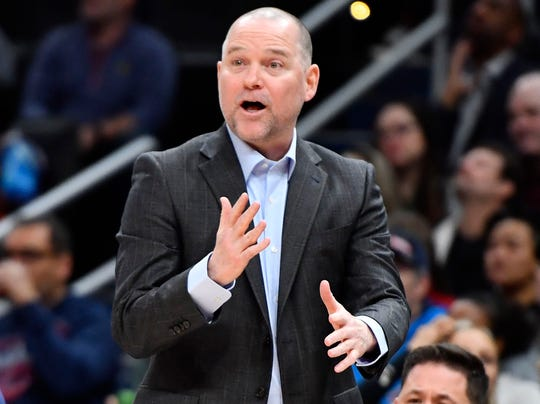 Nuggets coach Michael Malone isn't a fan of the NBA's guest policy in the bubble.