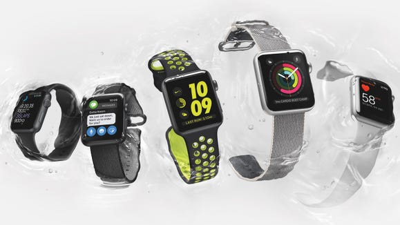 Apple Watch Series 3 (from $199) is a smartwatch packed with fitness features, including Siri voice support.