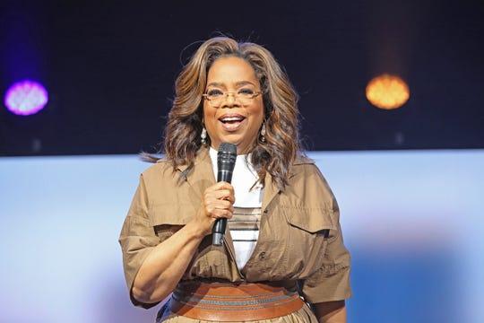 """Oprah Winfrey kicking off """"Oprah's 2020 Vision: Your Life In Focus Tour"""" in Florida Jan. 4."""