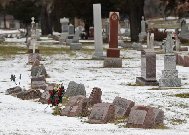 More than 16,700 people are buried at Oak Hill Cemetery in Neenah.