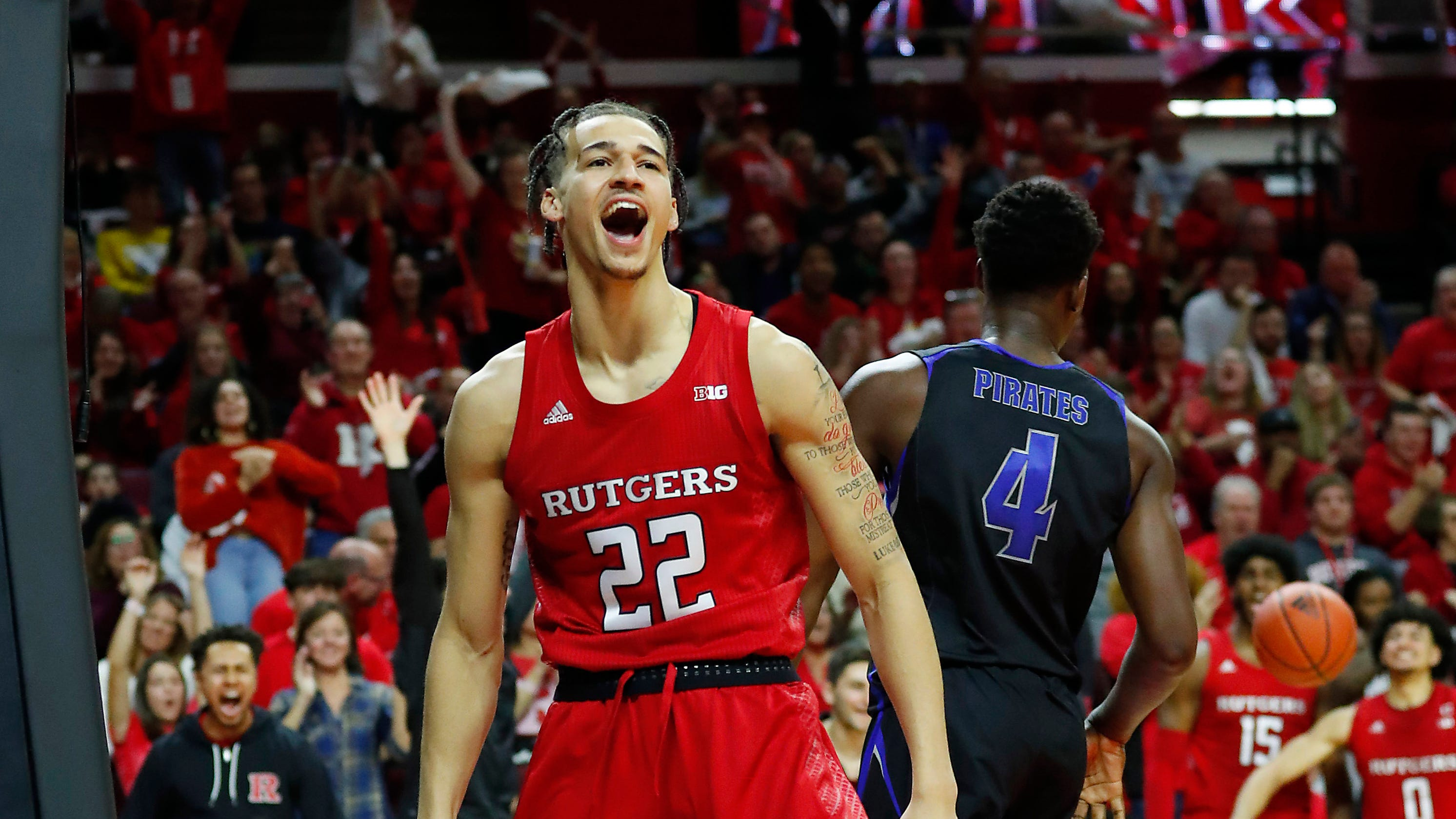 Image result for rutgers basketball 2020