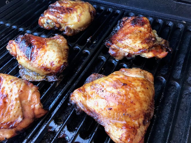 Molasses-Marinated Grilled Chicken