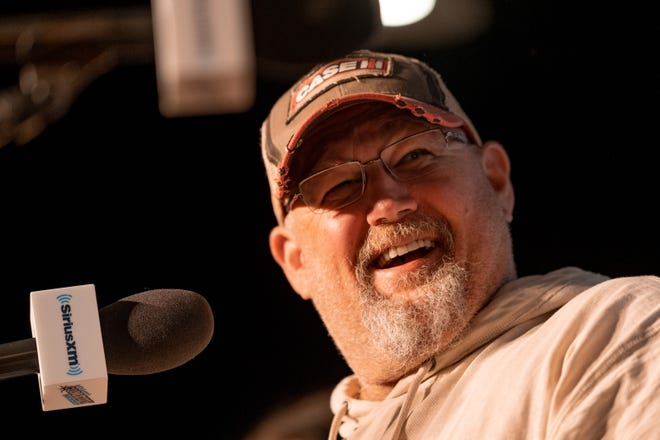 Larry the Cable Guy broadcasts his weekly SiriusXM show from The Funny Bone Nov. 9, 2018 in Omaha, Nebraska.