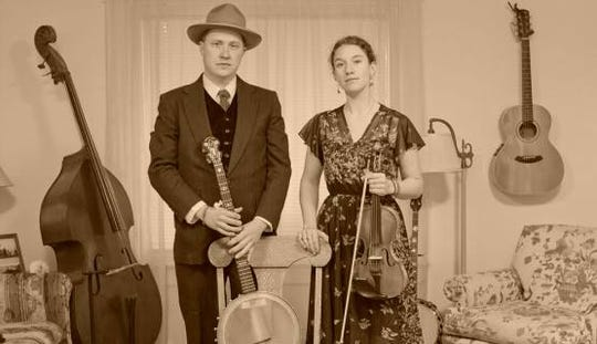 Acoustic duo The Vollmerswill perform at the Vestal Museum Saturday evening.