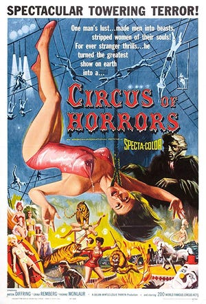 """""""Mystery Science Theater 3000"""" riffs on the 1960 horror flick """"Circus of Horrors."""""""