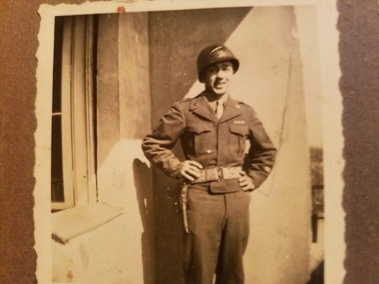 Agapito T. Rodriguez Jr. of Taft served in the European theater during World War II.
