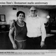 Stone's Restaurant in Cheviot will close after nearly 60 years of operation. The last day will be Jan. 25.A Cincinnati Enquirer clipping from 2007 celebrated the venue's 45th anniversary.