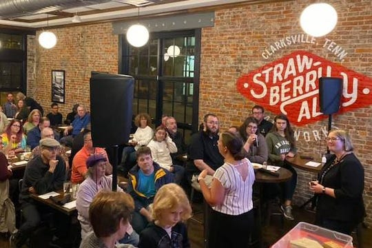 Science on Tap is held at Strawberry Alley.