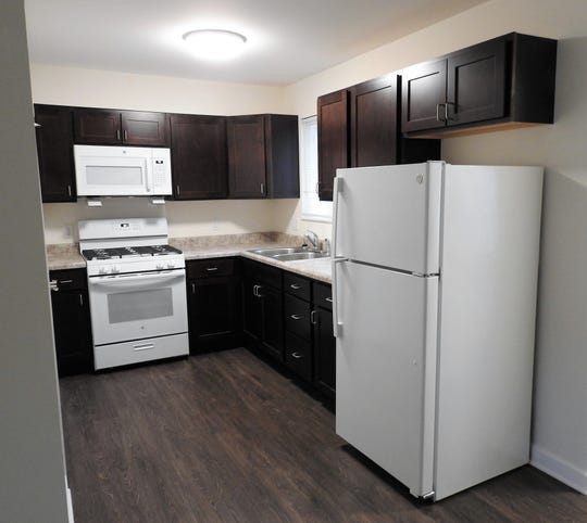 New energy-efficient appliances were part of renovations of 52 units at Heritage Apartments. The first major renovations since construction in 1970 represented an approximate $4 million investment.