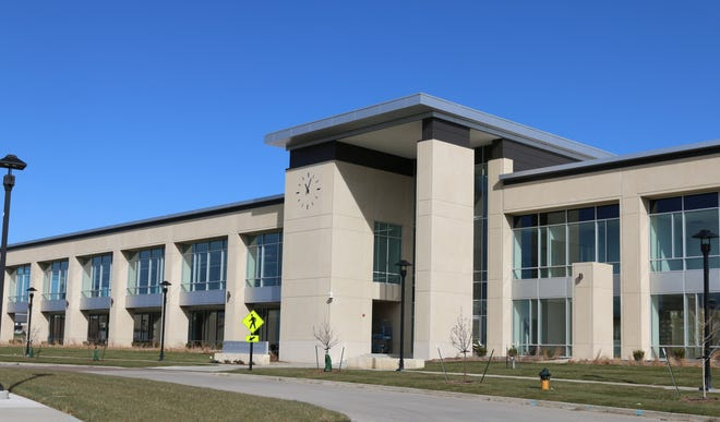 The new Ankeny Kirkendall Library opened Feb. 3, 2020 with more than double the sq. ft. space of the former Kirkendall Library.
