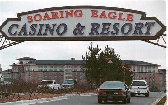 The Saginaw Chippewa Indian Tribe operates the Soaring Eagle, the largest casino in the state