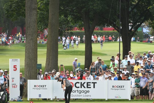 The Rocket Mortgage Classic at Detroit Golf Club will be played a month earlier than last year.