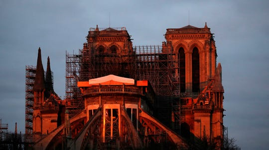 "Gen. Jean-Louis Georgelin who is overseeing the reconstruction of the fire-devastated Notre Dame Cathedral told French broadcaster CNews on Sunday that ""the cathedral is still in a state of peril"" after last year's fire."